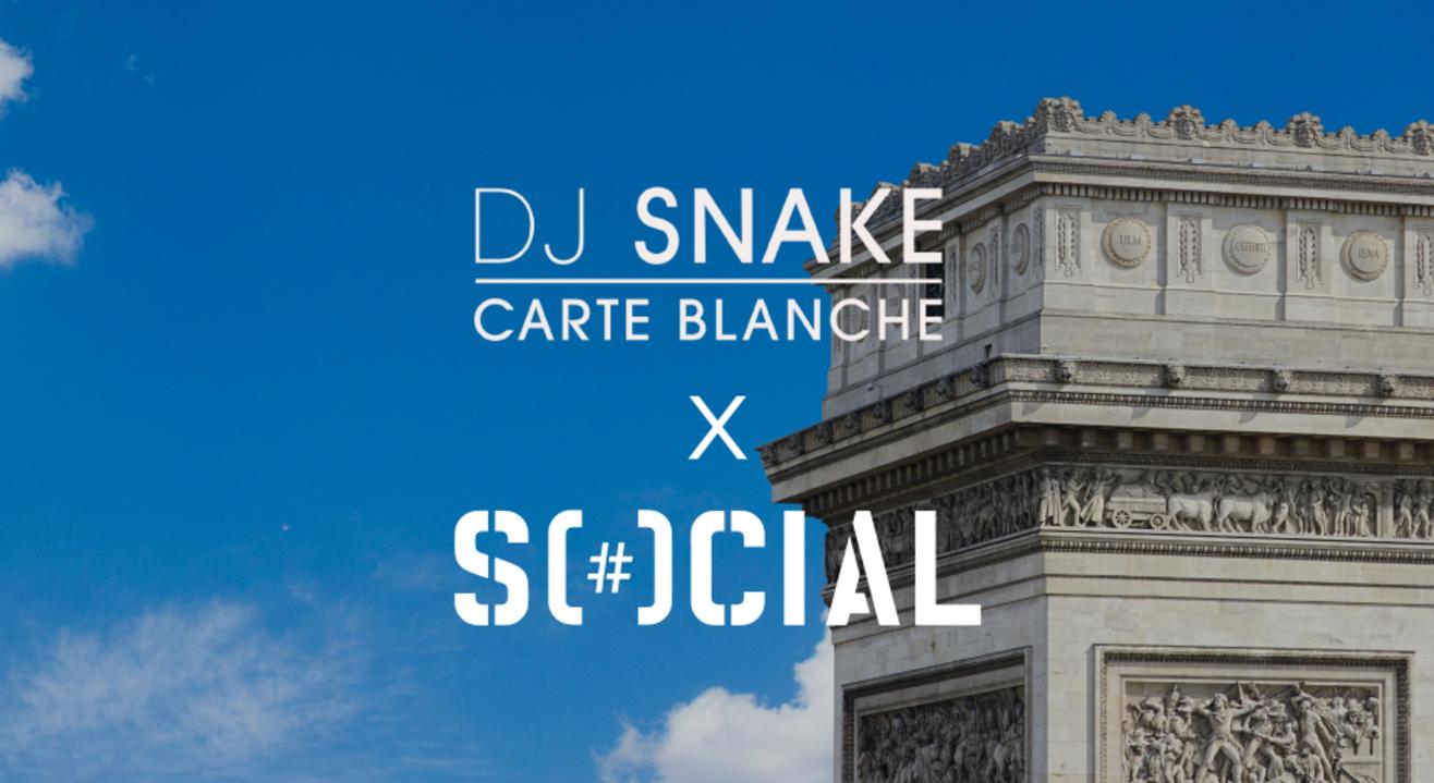 DJ Snake presents Carte Blanche - Listening Party ft Sartek| Nehru Place Social