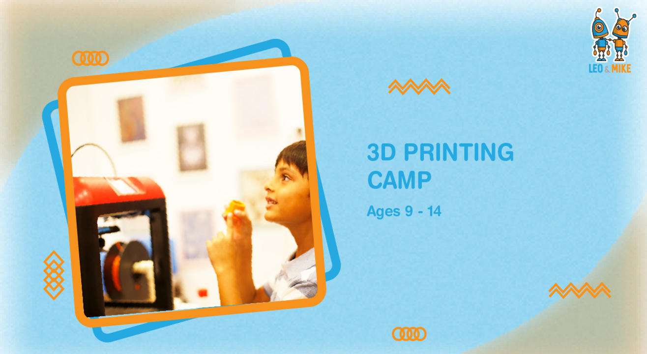 3D Printing Intensive Camp for Ages 9-14!