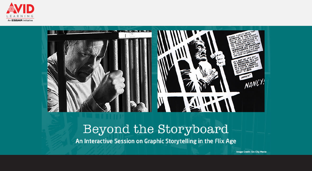 Beyond the Storyboard: An Interactive Session on Graphic Storytelling in the Flix Age