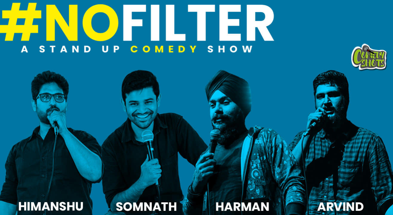 #NOFILTER- A Stand-Up Comedy Show