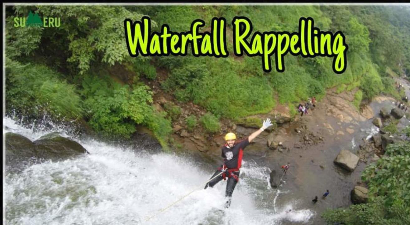 SUMERU TREKKERS invites you for Waterfall Rappelling at Bekare Waterfall