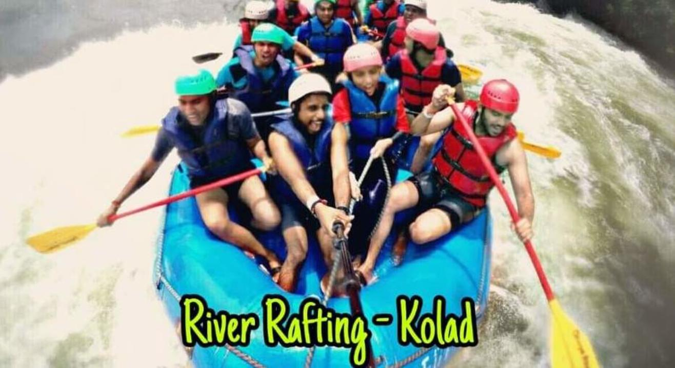 Sumeru Trekkers River Rafting Event at Kolad