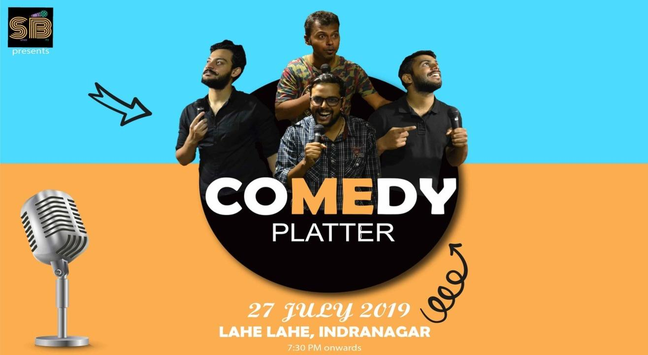 Comedy Platter - A stand up comedy show by SunoBey