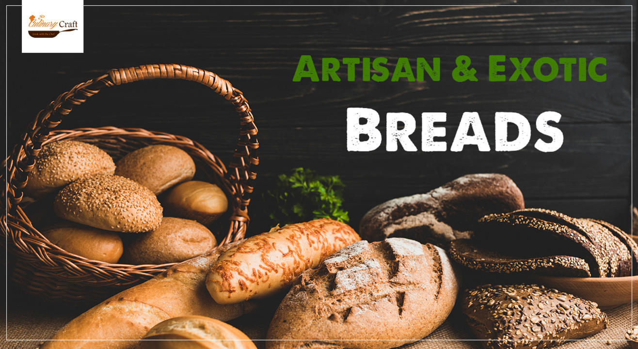 Exotic Artisan Breads (Eggless)