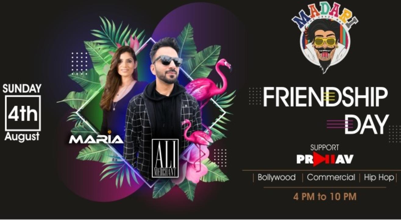 Madari's Friendship Day Sundowner feat Ali Merchant