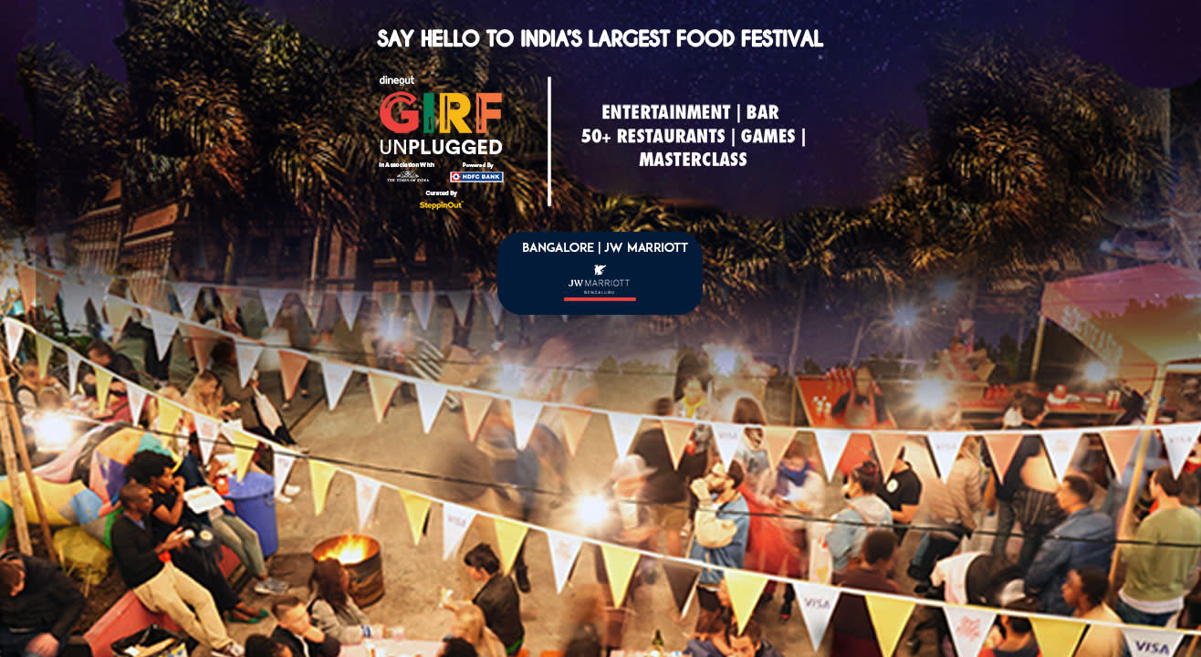 GIRF Unplugged - Great Indian Restaurant Festival | Bangalore