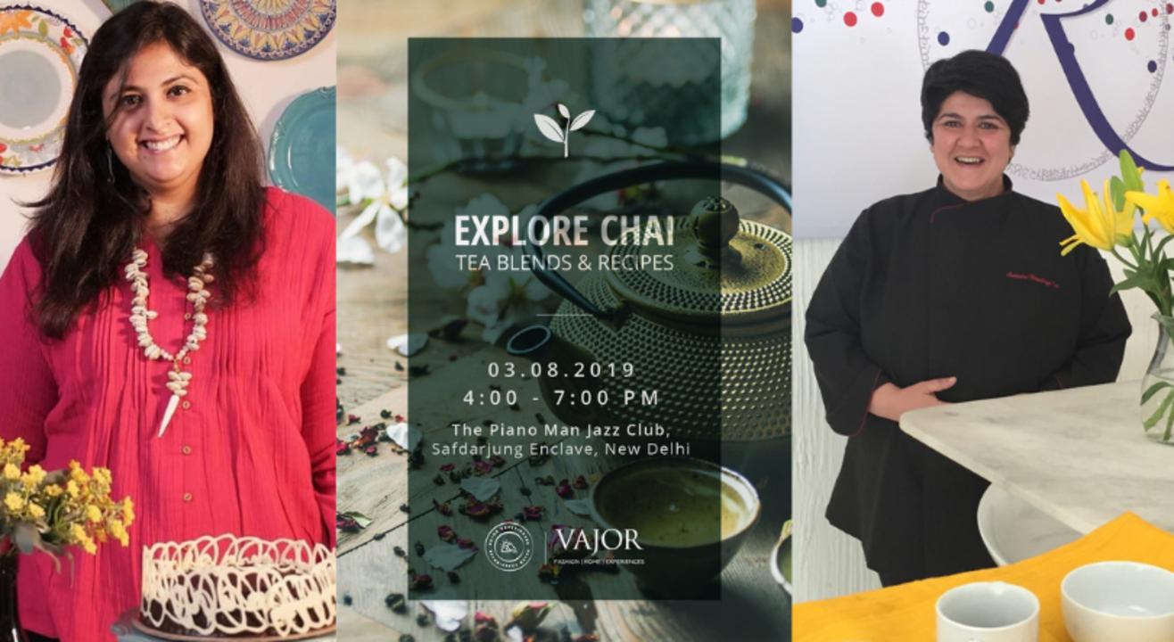 Explore Chai -  Tea Blends &  Recipes
