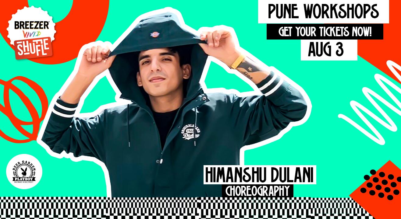 Breezer Vivid Shuffle Dance Workshop | Pune Edition