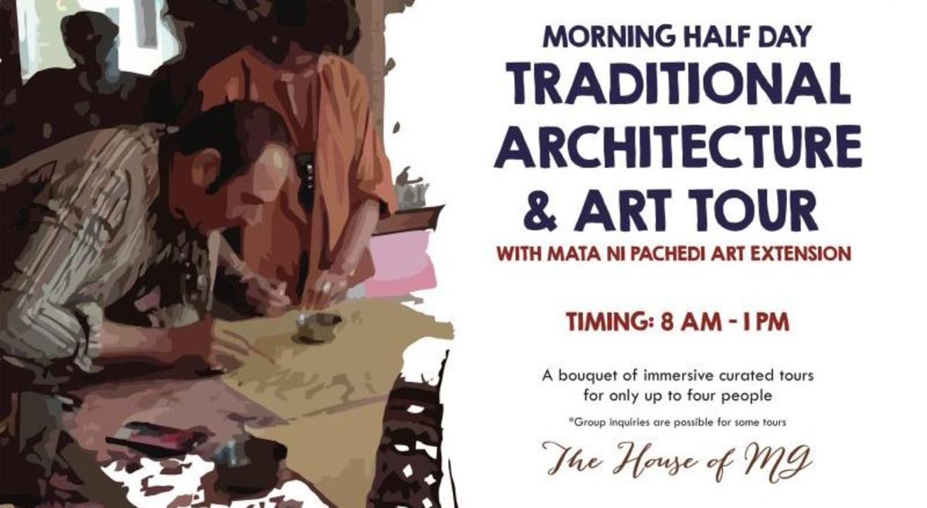 Morning Half Day - Discover Traditional Architecture & Art Tour With Mata Ni Pachedi Art Extension