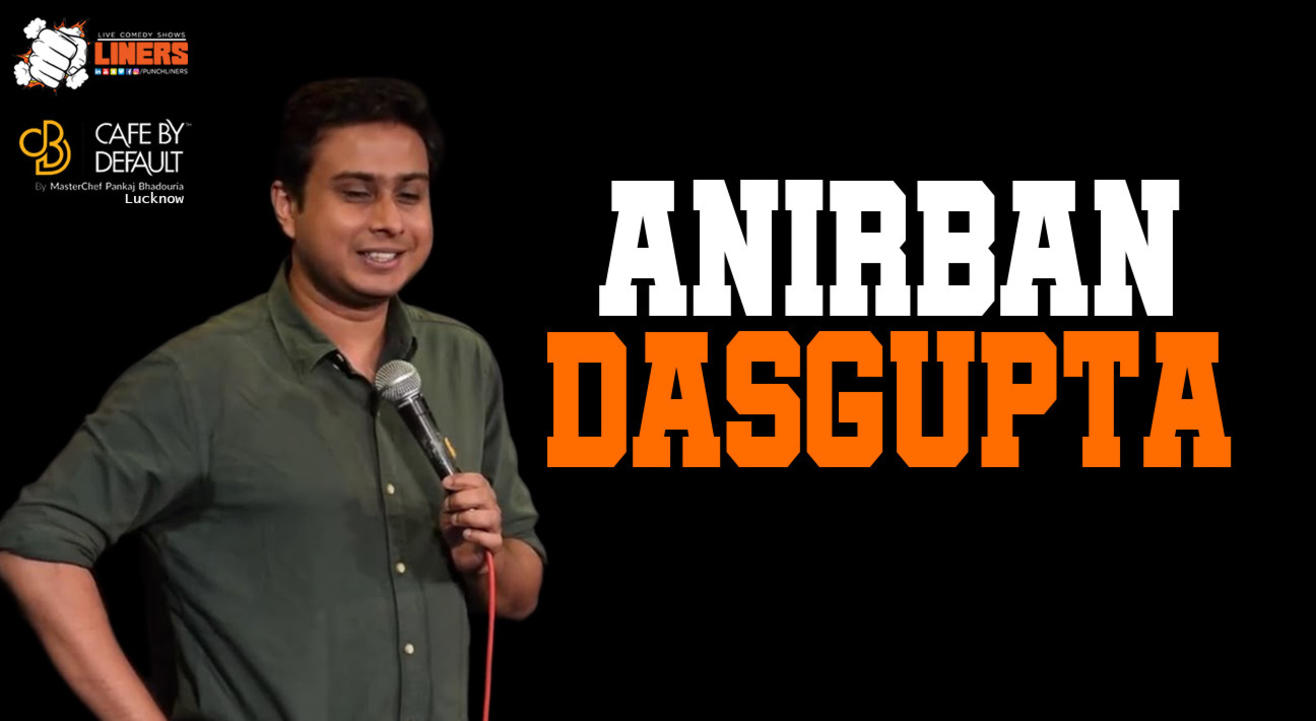 Punchliners Standup Comedy Show ft Anirban Dasgupta live in Lucknow