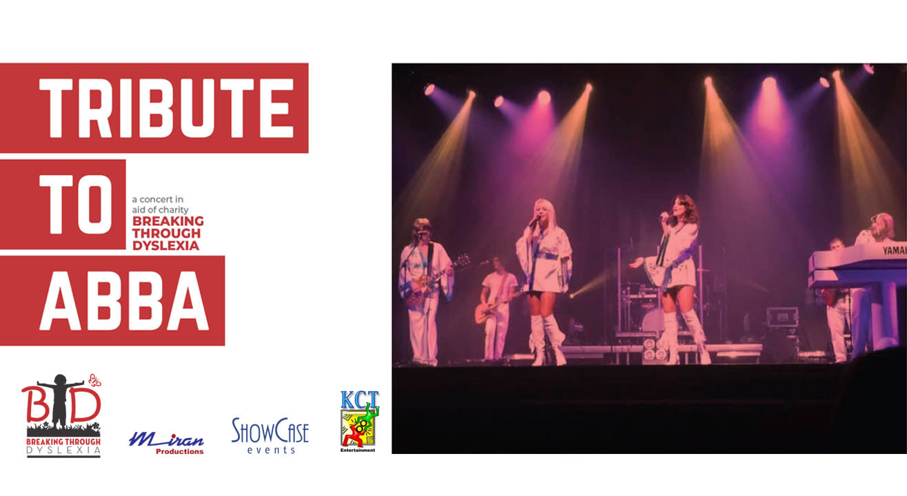 Tribute to ABBA – A Concert in aid of Charity