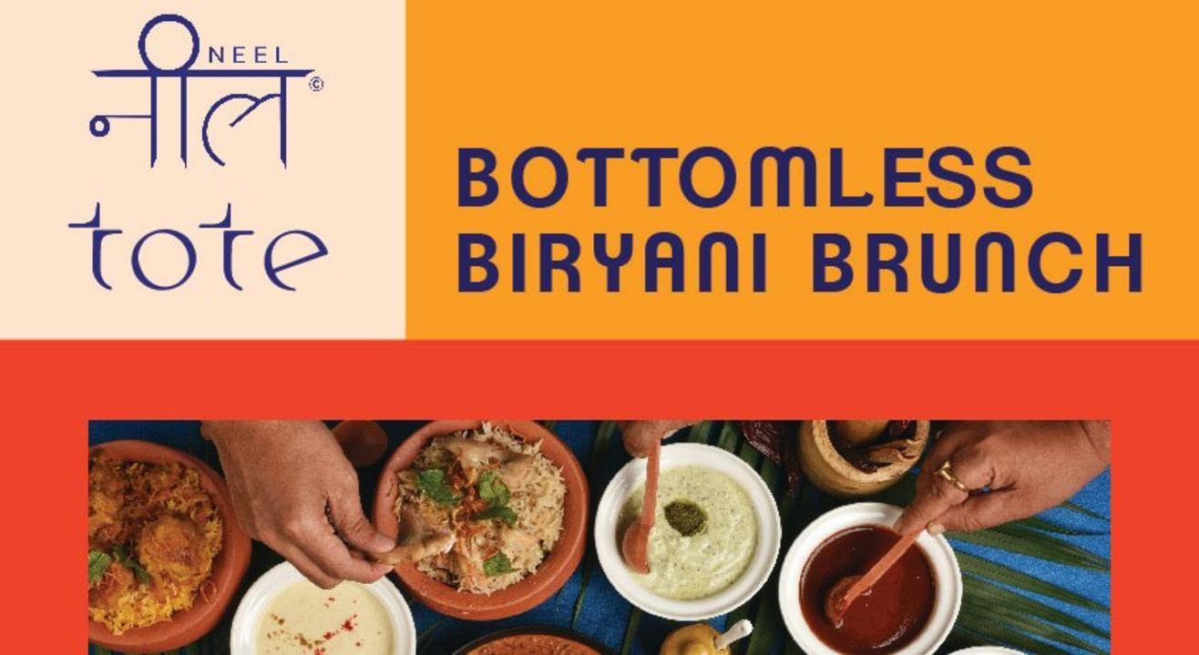 Bottomless Biryani Brunch