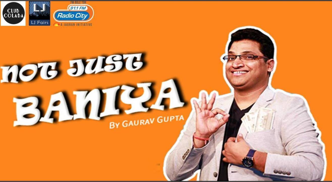 Not Just Baniya- Gaurav Gupta