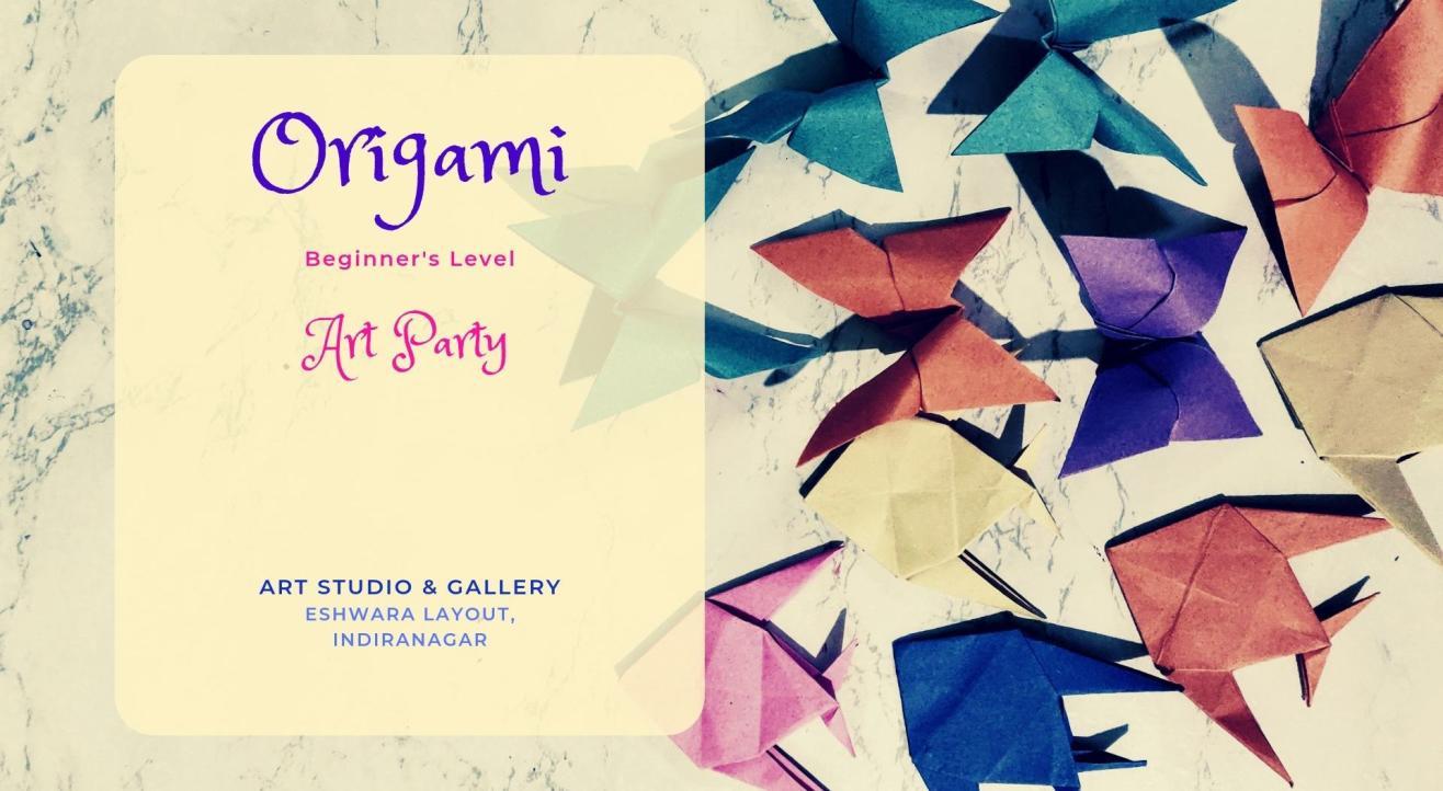 Origami Art Party - Beginners' Workshop Indiranagar