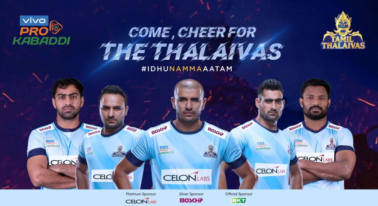 VIVO Pro Kabaddi 2019: Tamil Thalaivas Tickets, schedule, squad & more!