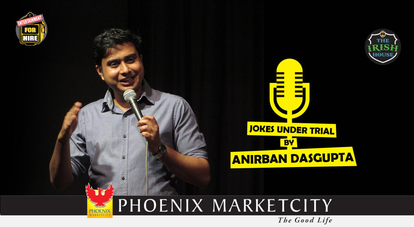 Jokes under trial by Anirban Dasgupta (PUNE)