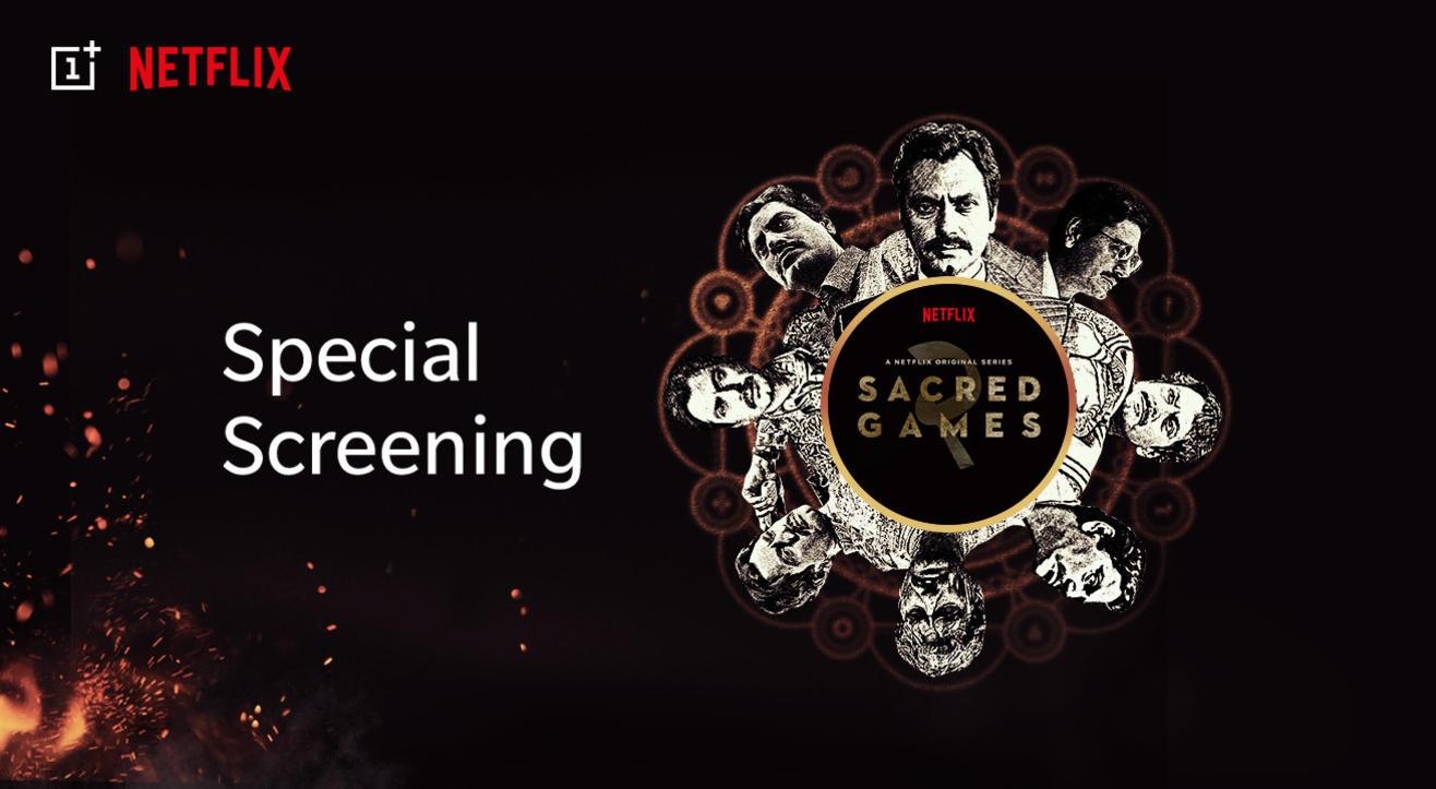 OnePlus x Netflix: Sacred Games 2 Special Screening | Mumbai