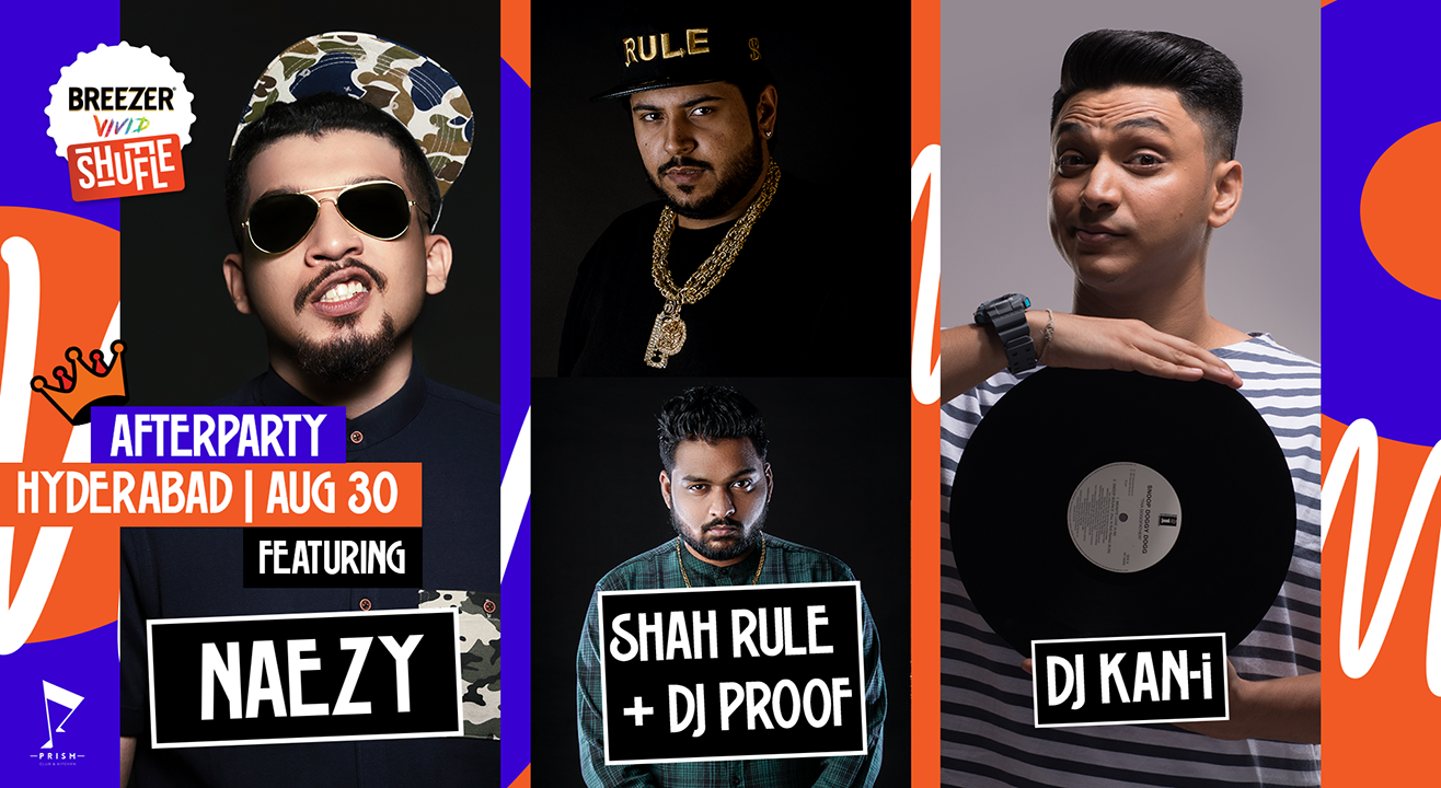 Breezer Vivid Shuffle Afterparty | Hyderabad edition know