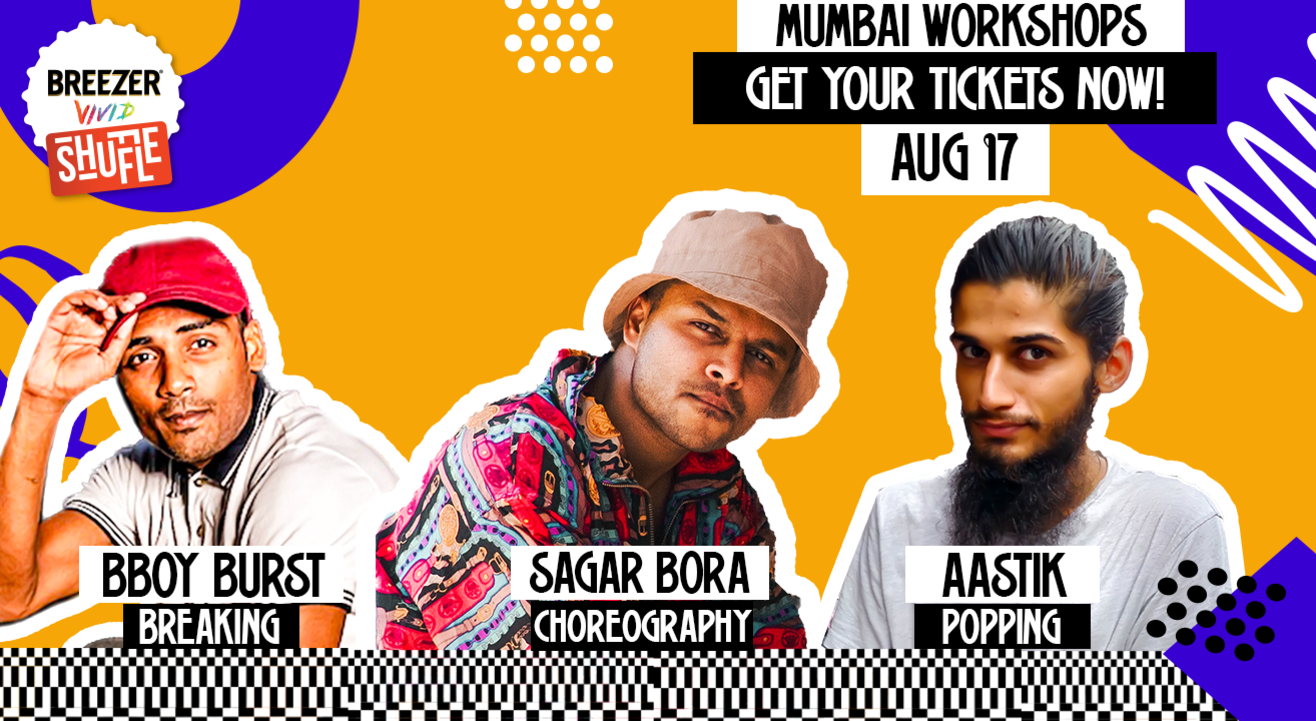 Breezer Vivid Shuffle Dance Workshop | Mumbai Edition