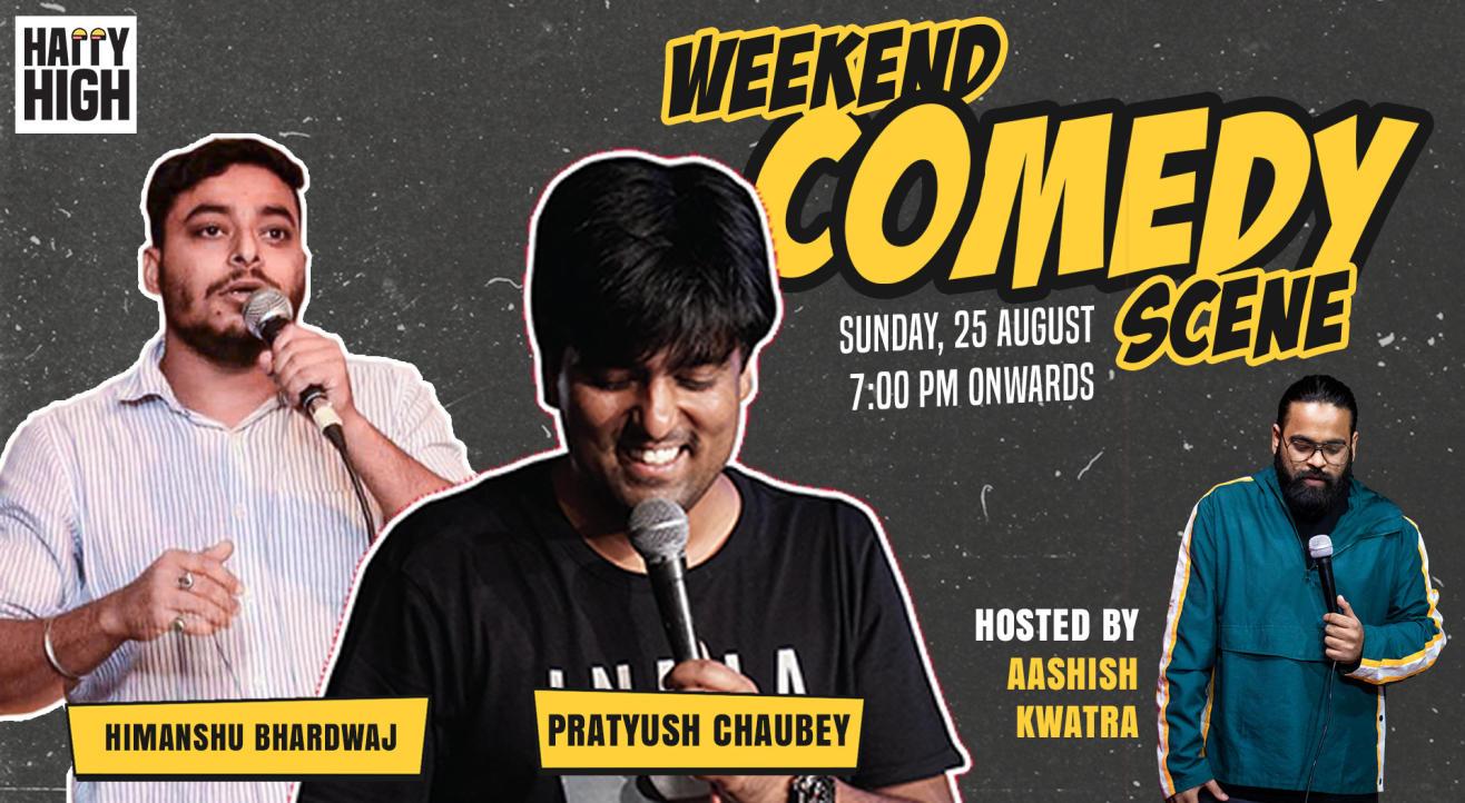 Weekend Comedy Scene ft Pratyush Chaubey & Himanshu Bhardawaj