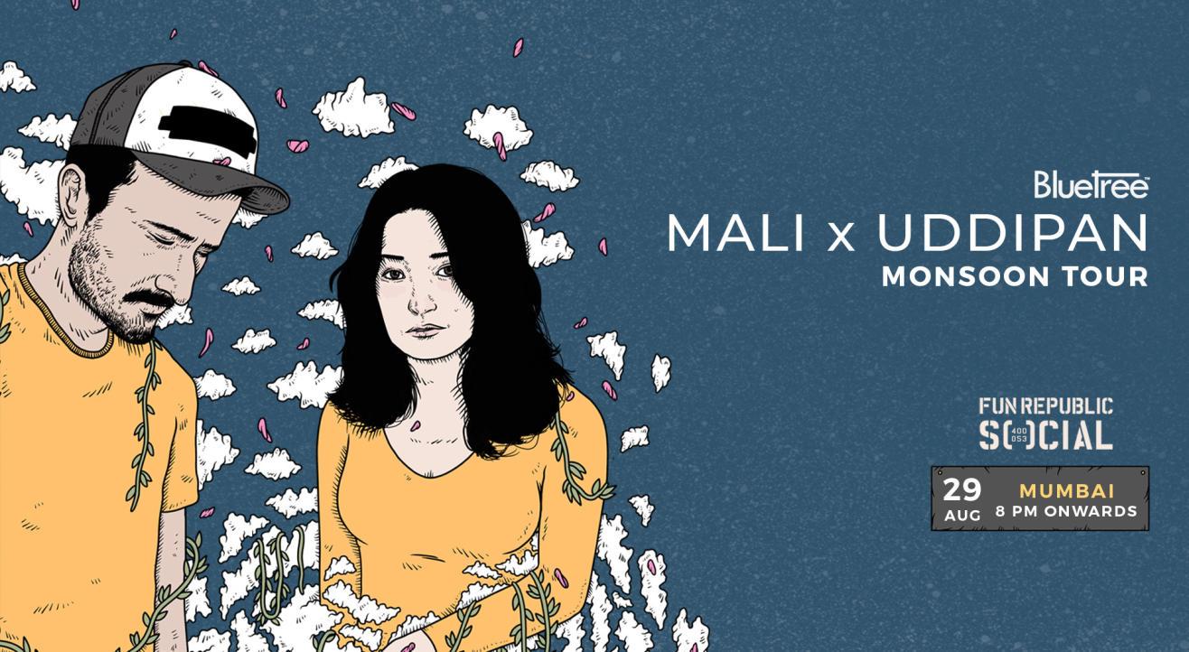 BlueTree presents Monsoon Tour featuring Mali x Uddipan | Mumbai