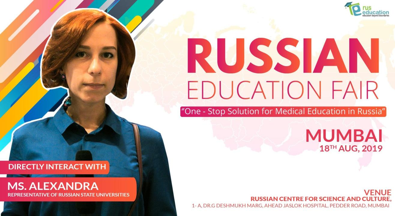 Russian Education Fair 2019