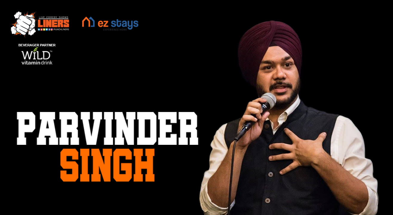 Punchliners Standup Comedy Show by ez stays ft Parvinder Singh