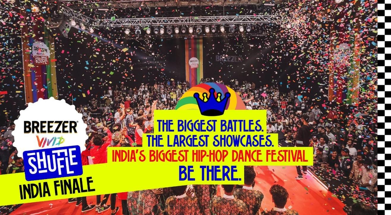 Breezer Vivid Shuffle 2019 India Finale