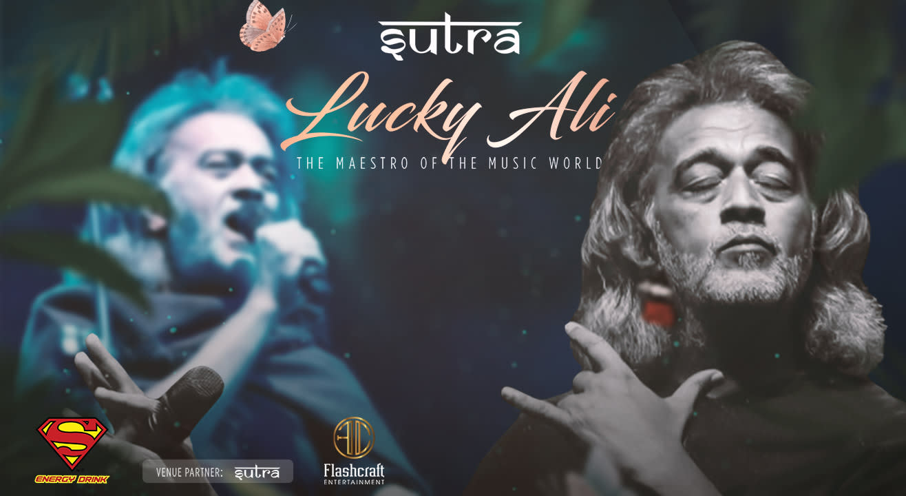 Lucky Ali & Band Performing at Sutra Noida