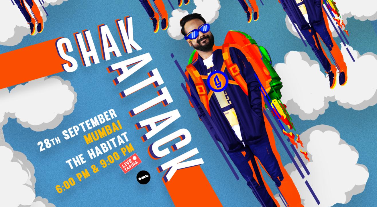 Shak Attack: Live Taping Of Ashish Shakya's Comedy Special | Mumbai