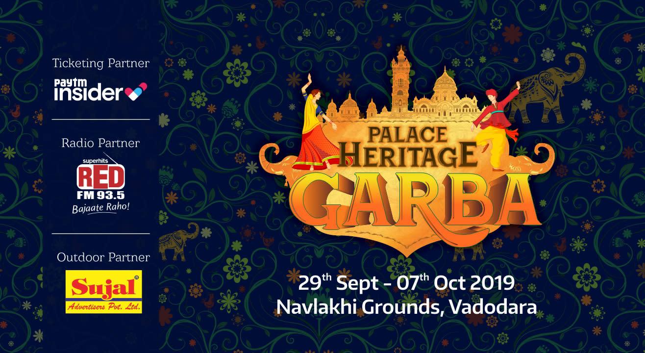 Palace Heritage Garba, Navlakhi Grounds, Vadodara