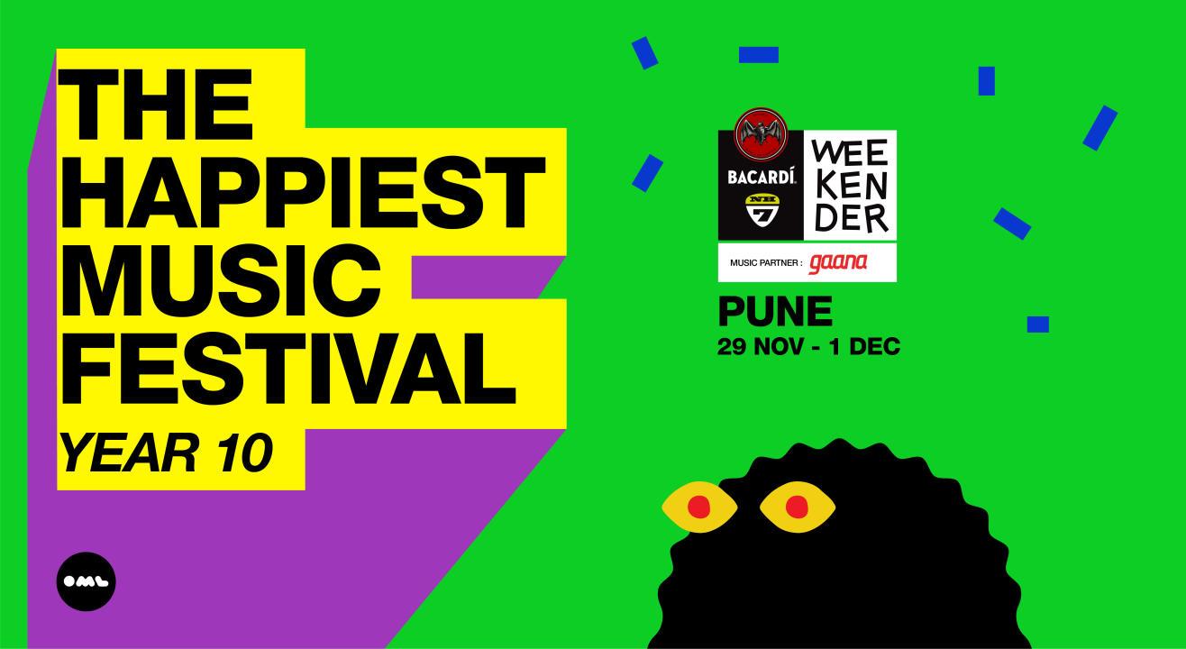 Bacardi NH7 Weekender 2019, Pune