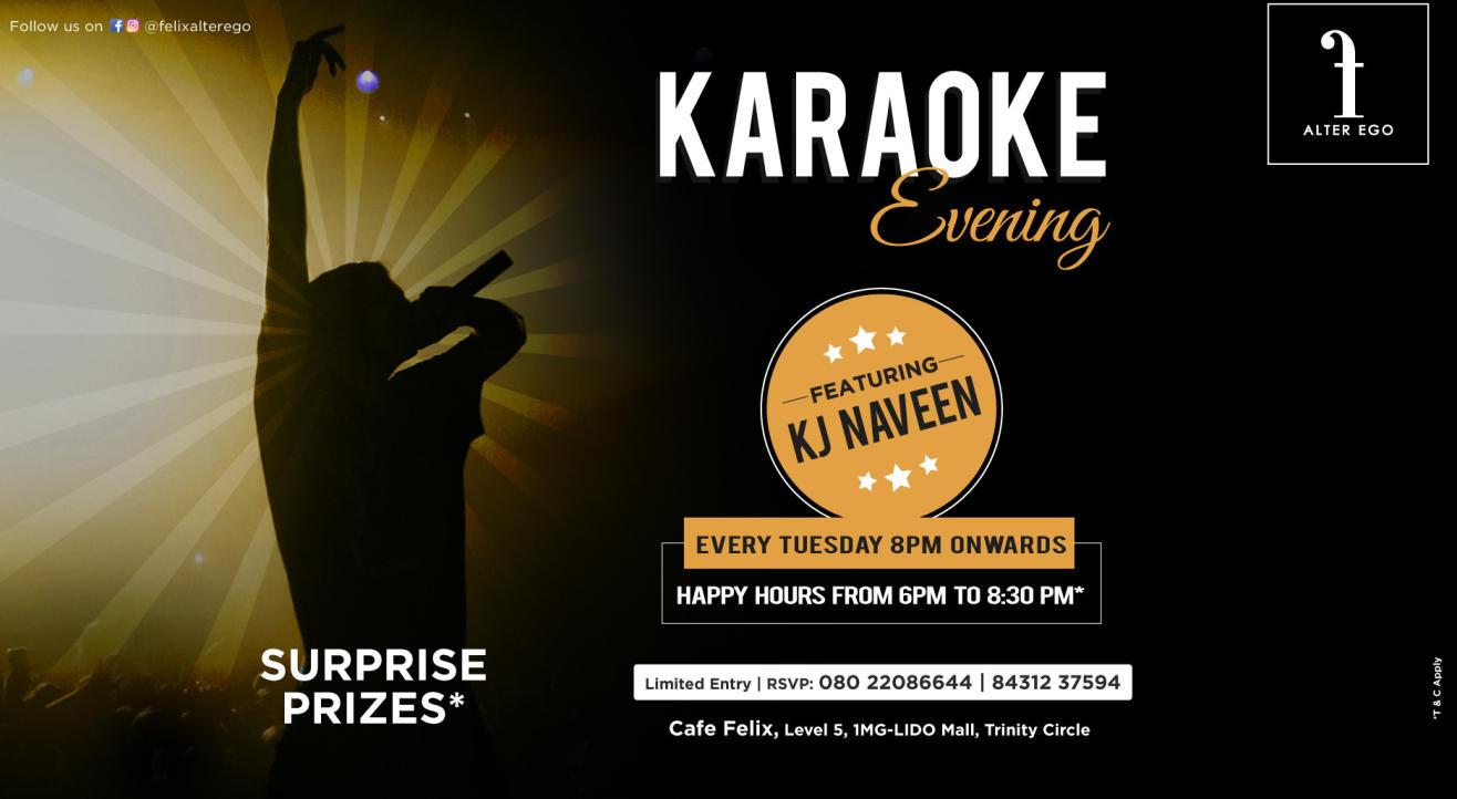 Karaoke Evenings  | EVERY TUESDAY