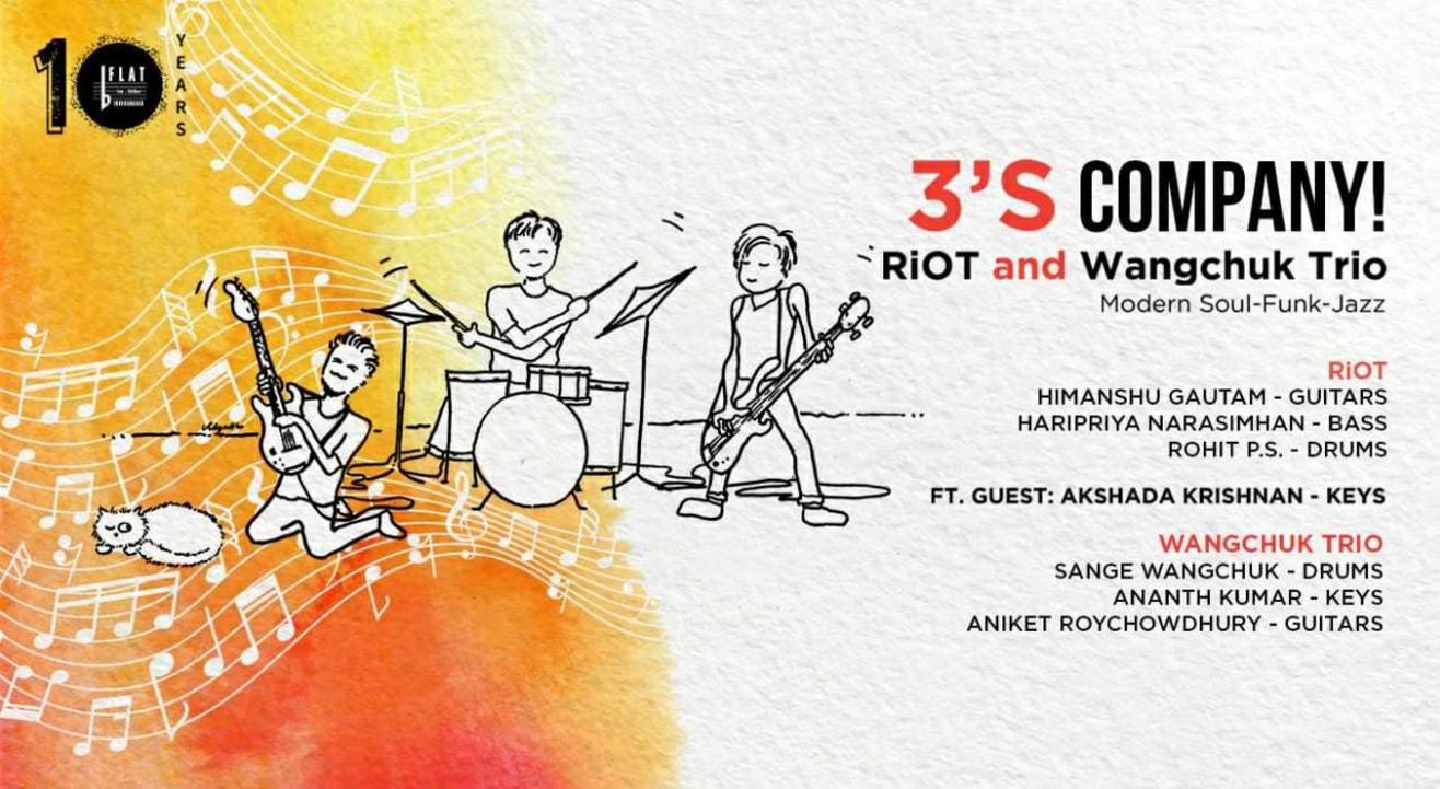 3's Company! Ft. RiOT and Wangchuk Trio