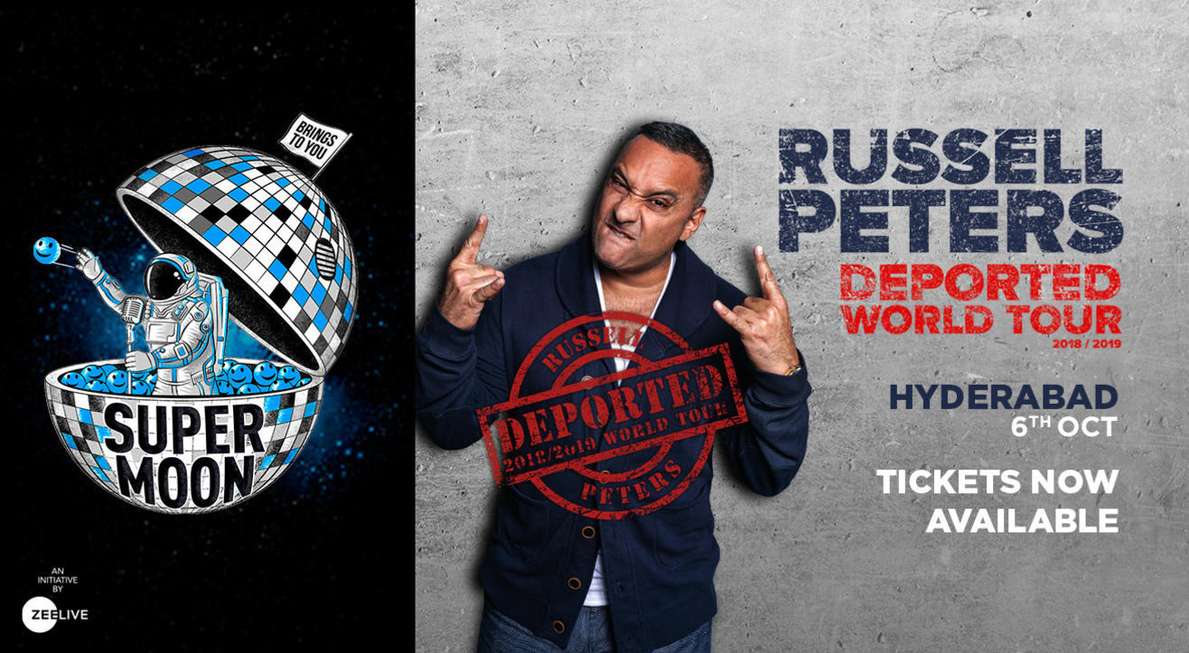 Supermoon ft. Russell Peters Deported World Tour- Hyderabad