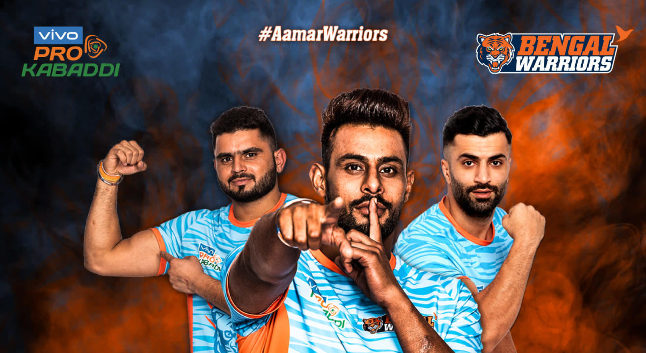 VIVO Pro Kabaddi 2019: Bengal Warriors Tickets, schedule, squad & more!