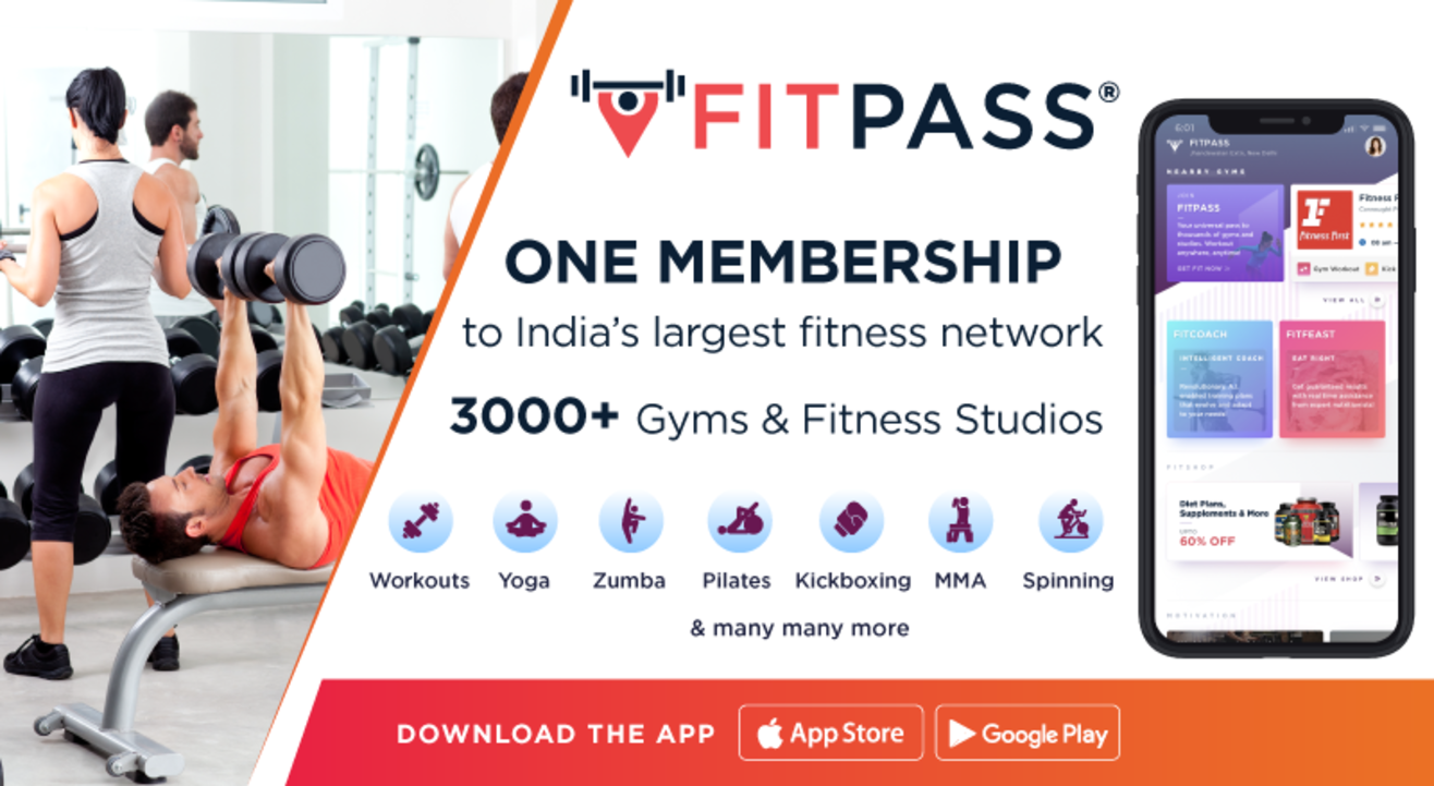 Unlimited Workout anywhere, anytime!