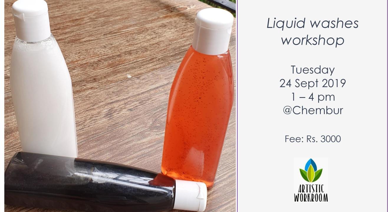 Liquid washes workshop (shampoo, face wash etc.)