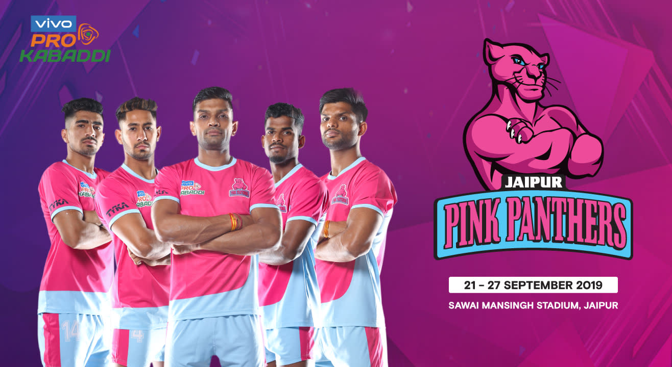 Jaipur Pink Panthers Buy Match Tickets Online For Vivo Pro