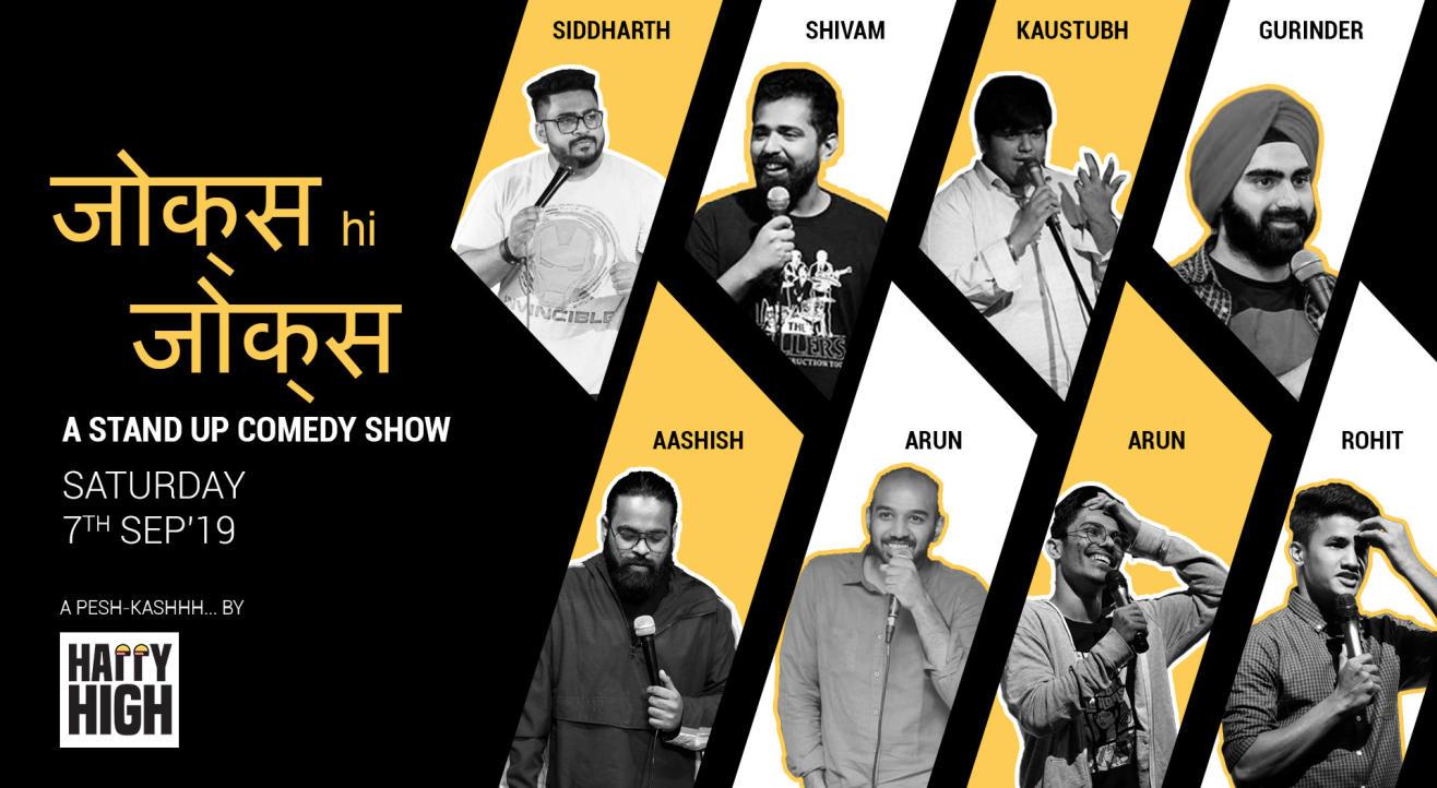 Jokes hi Jokes - A Standup Comedy Show