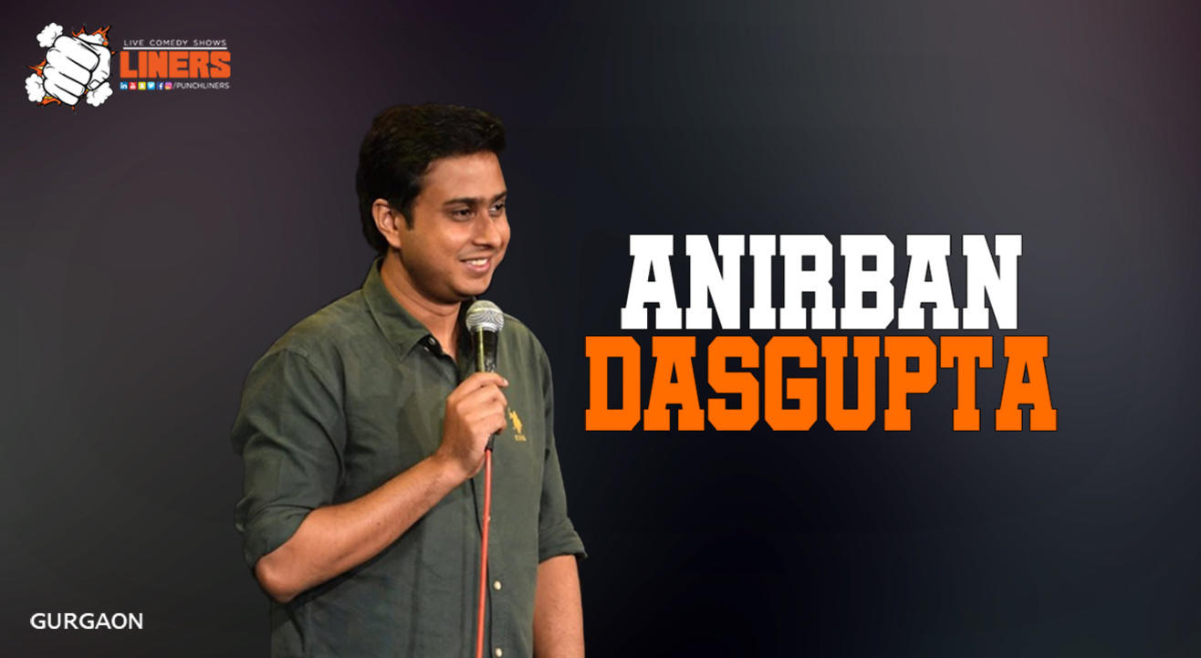 Punchliners Standup Comedy Show ft Anirban Dasgupta   Gurgaon