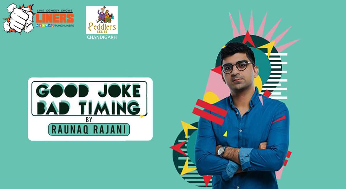 Punchliners Standup Comedy Show ft Raunaq Rajani