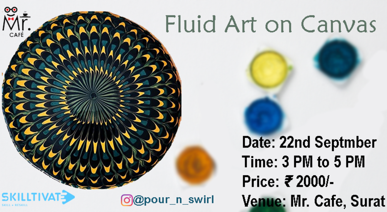 Fluid Art Workshop with Yuti Gogri