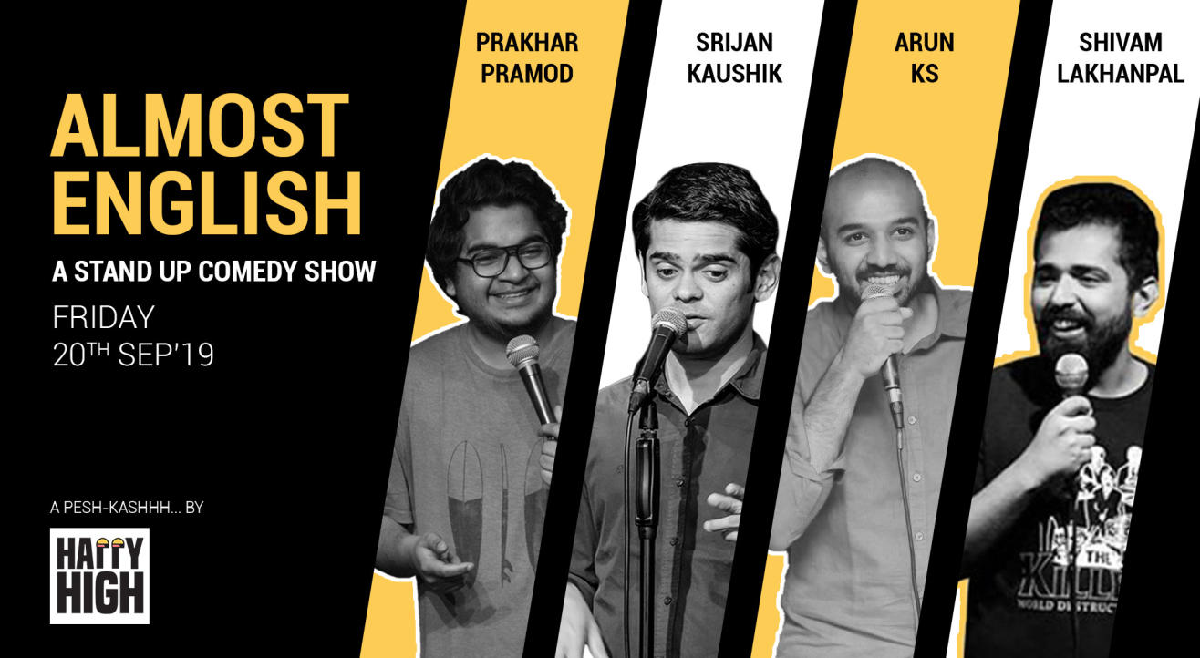 Almost English - A Standup Comedy Show