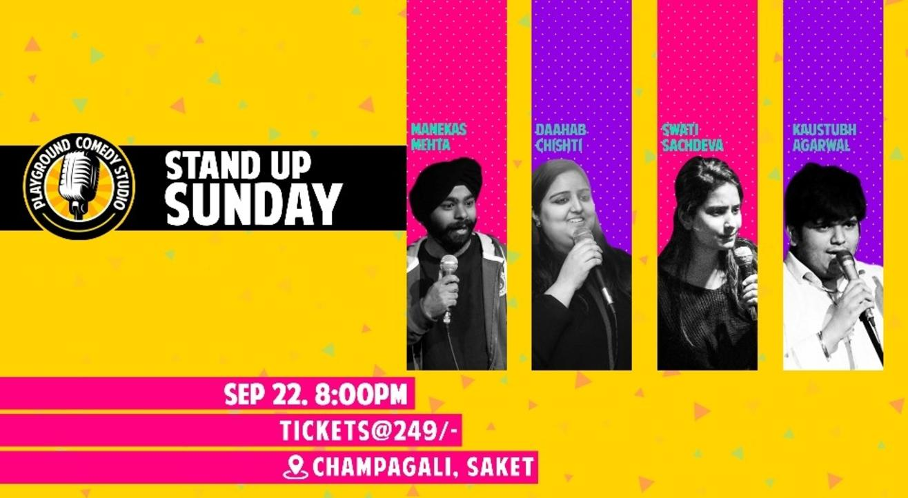 Stand Up Comedy Sunday at Playground