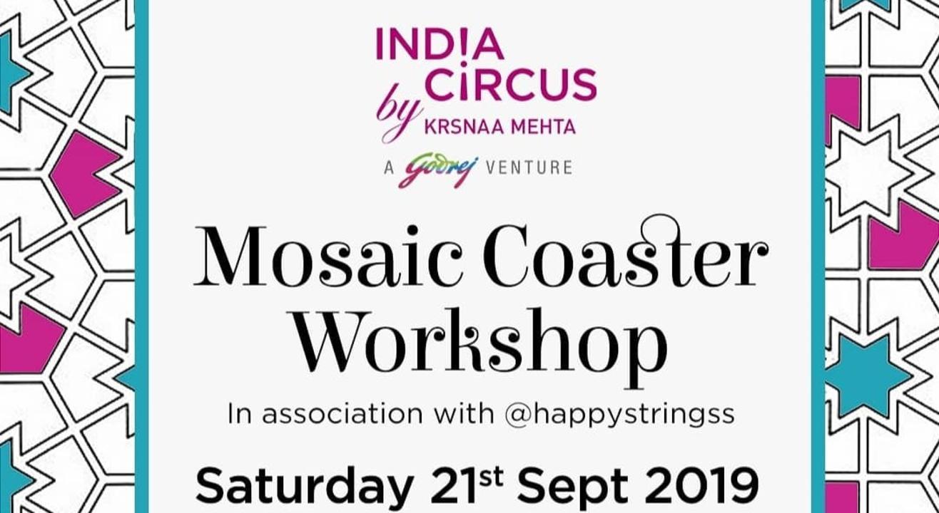 Mosaic Coaster Workshop