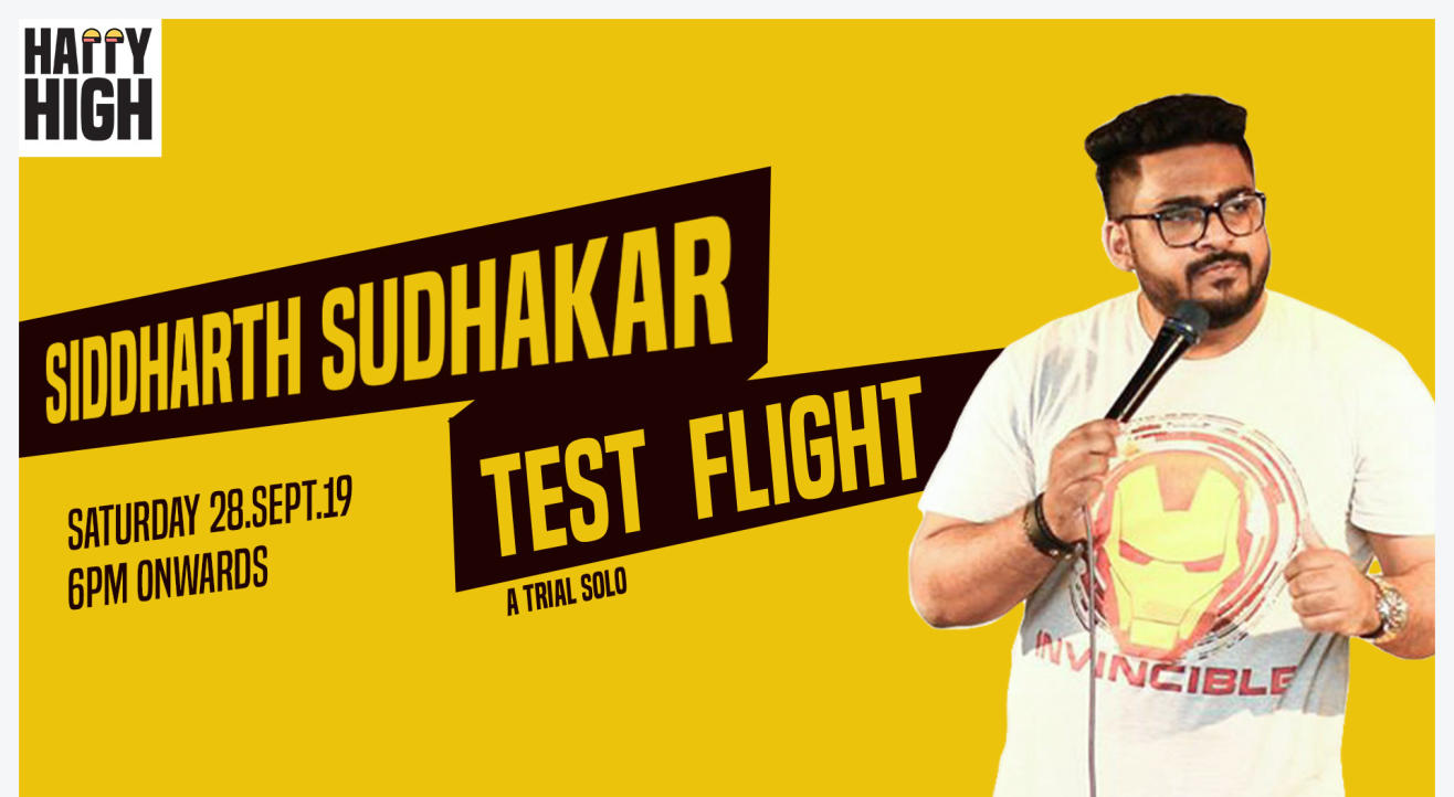 Test Flight - A Trail Solo by Siddharth Sudhakar