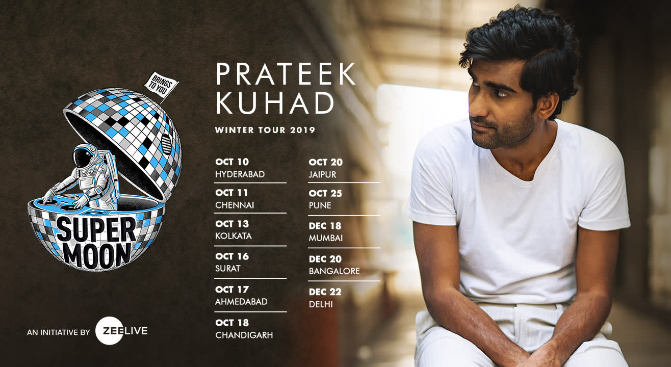 The One With A Soulful Voice - Supermoon ft. Prateek Kuhad Winter Tour 2019!