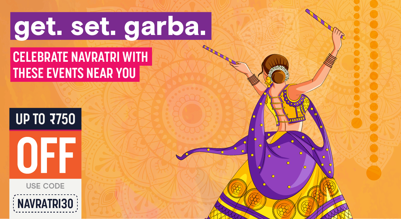 Navratri Events & Celebrations in Ahmedabad, Rajkot, Baroda | Dandiya Parties and more!