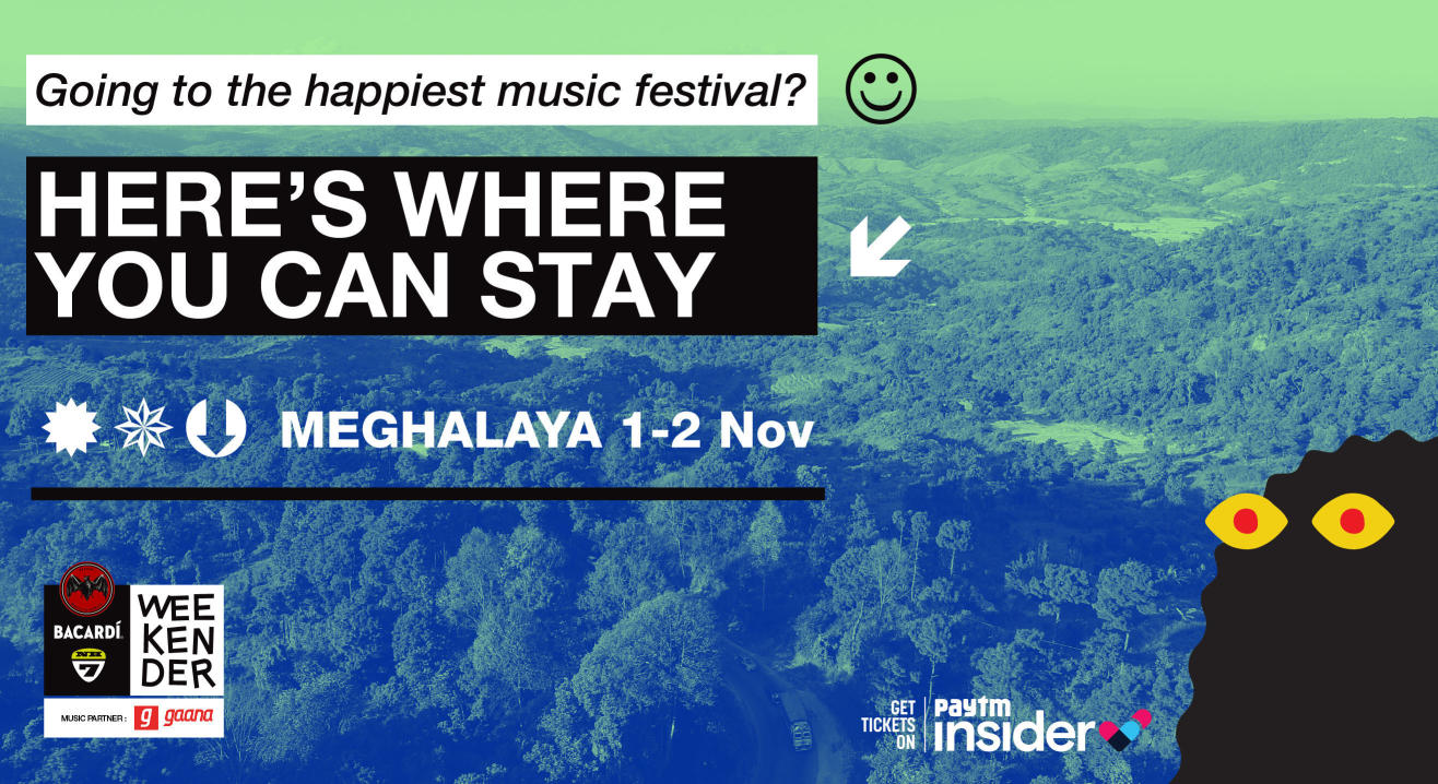 Heading to Meghalaya for BACARDÍ NH7 Weekender? Find Your Stay & Camping Right Here!